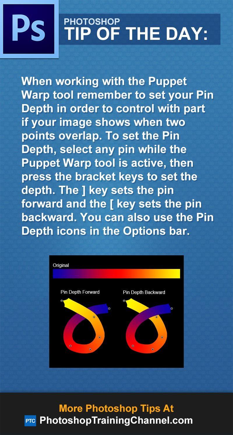Setting pin depth in puppet warp puppet photoshop and adobe setting pin depth in puppet warp photoshop ideasphotoshop tutorialadobe baditri Image collections