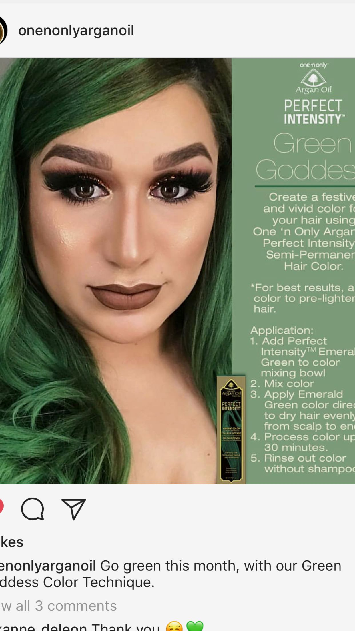 Onenonly Argan Oil Hair Color Available At Sallys R0xannedeleon