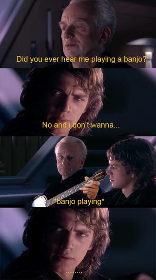 I Hope You Ll Like It Prequelmemes Star Wars Facts Star Wars Humor Funny Star Wars Memes