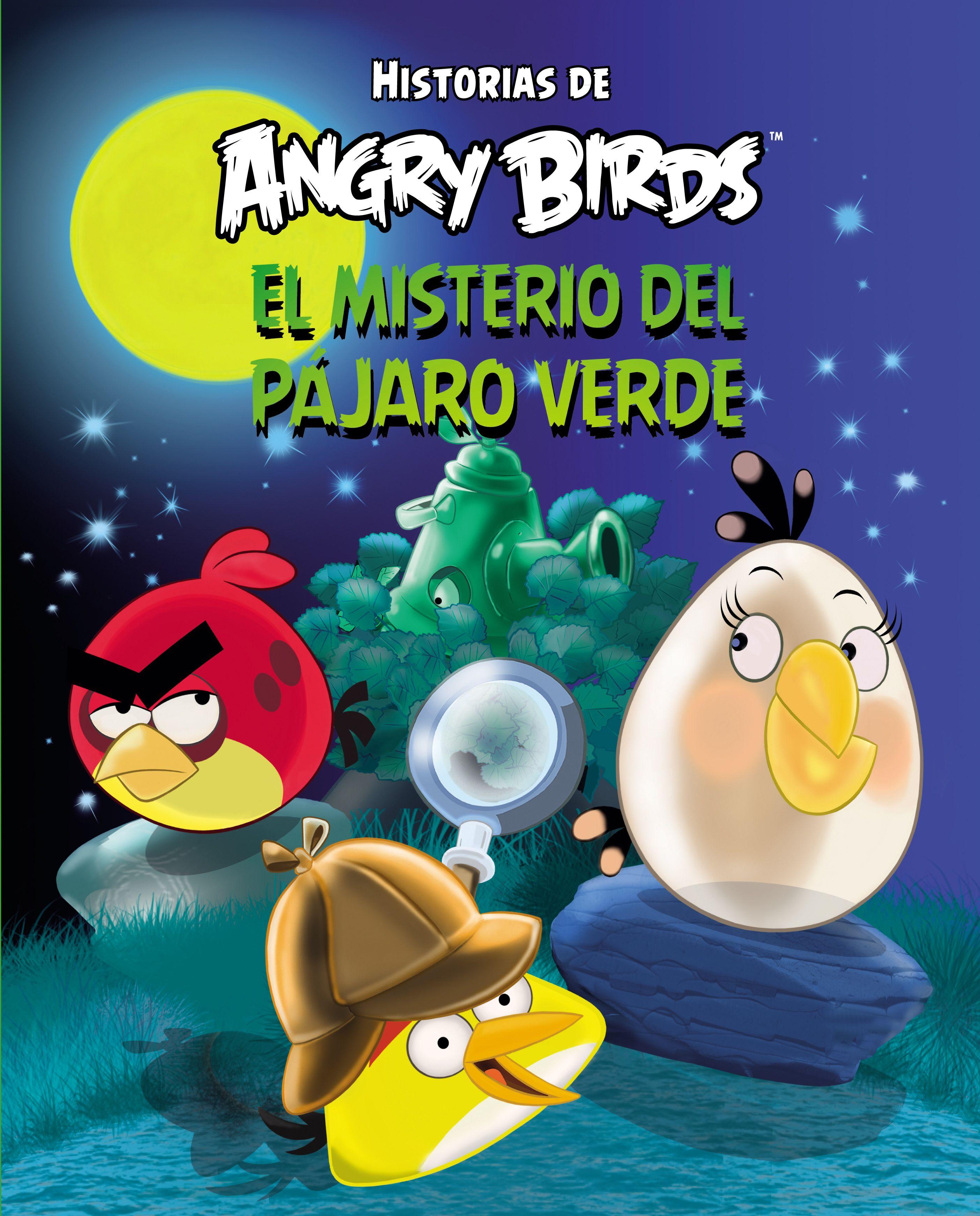 ANGRY BIRDS. EL MISTERIO DEL PÁJARO VERDE. - Un extraño pájaro ha ...
