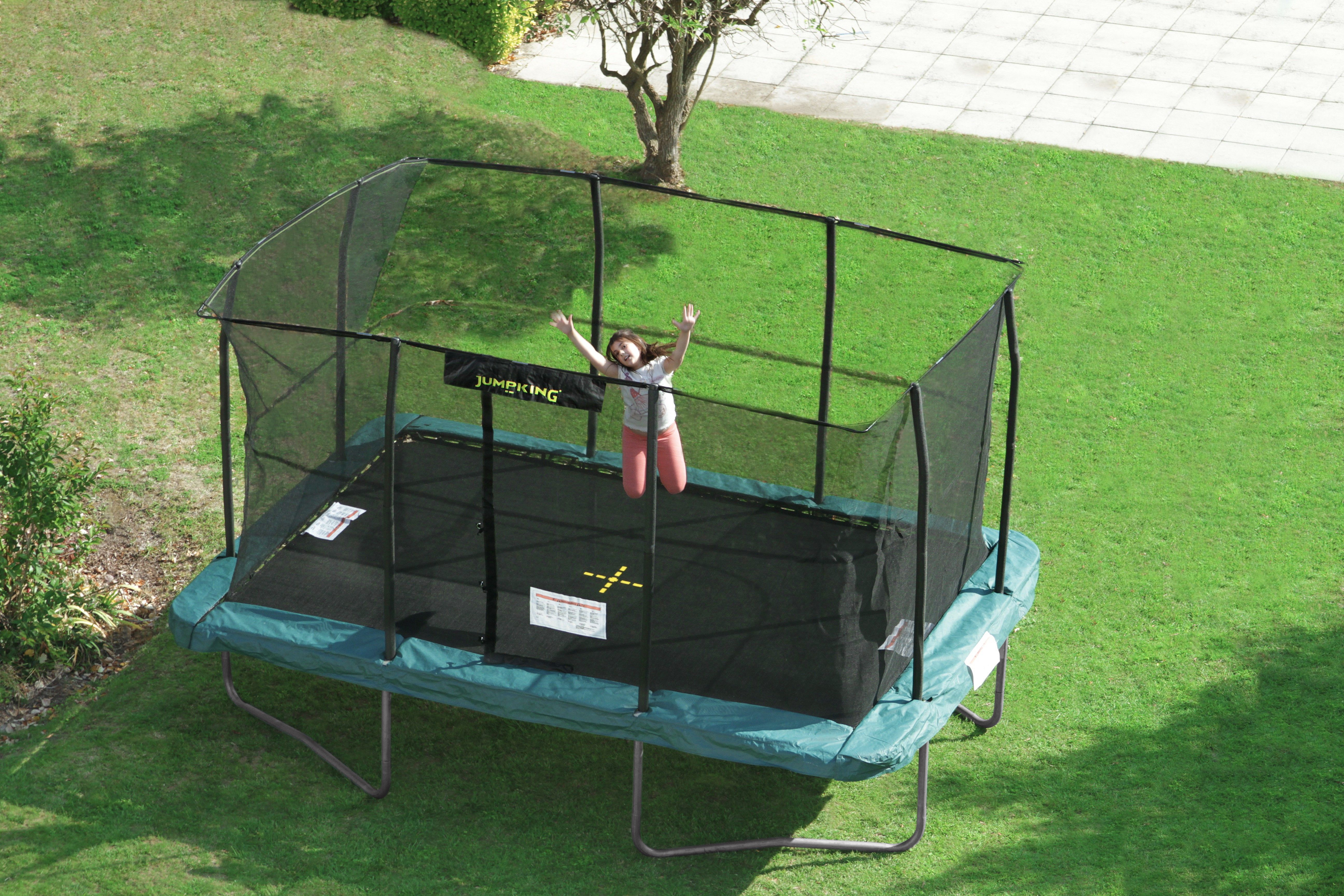 New trampoline Rectangular Tappeti elastici Jumpking