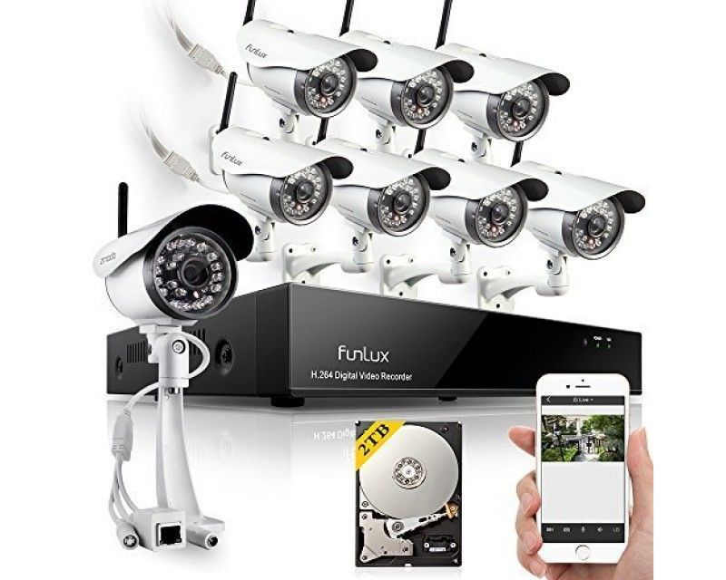Funlux Outdoor Home Security Cameras | Wireless Security | Pinterest ...