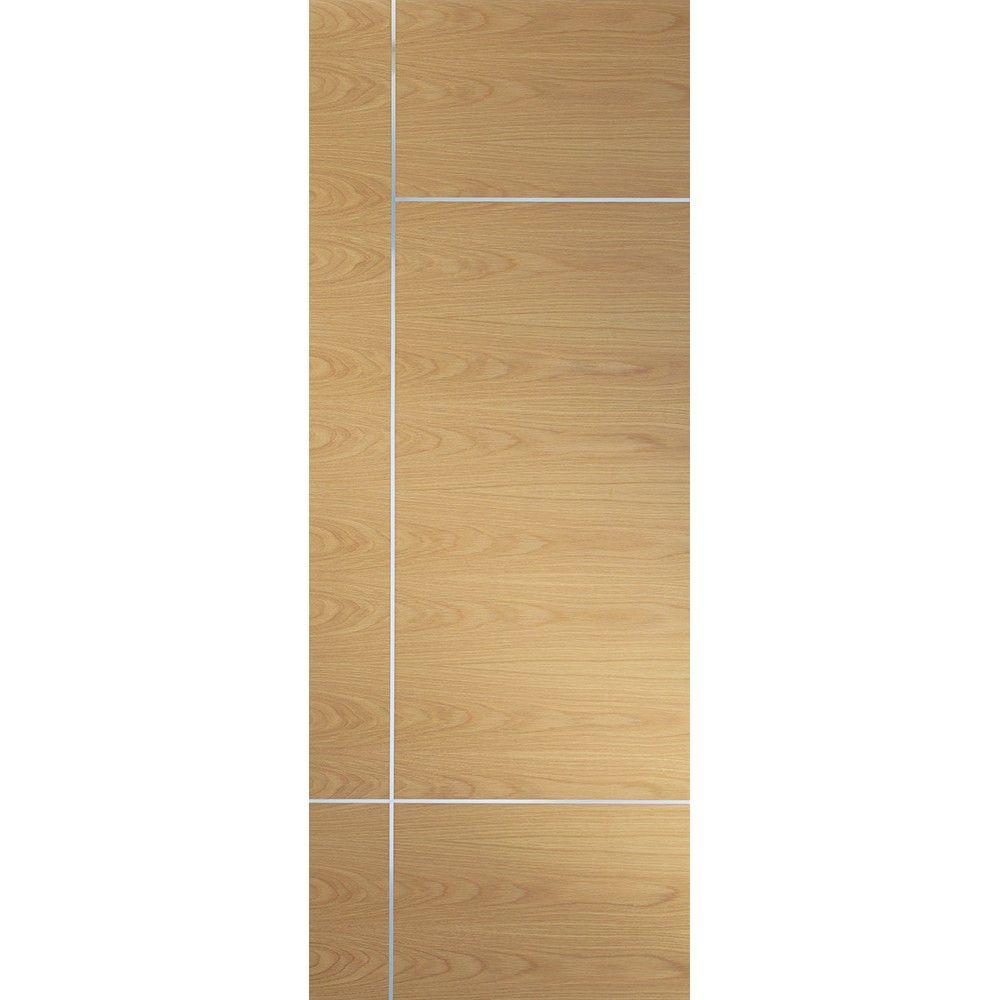 Fire Door Strips >> A Prefinished Internal Oak Fire Door Featuring Aluminium