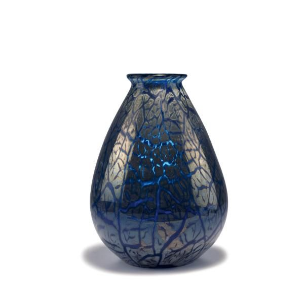 Emile galle nancy tall vase 1920s h 36 4 cm cased