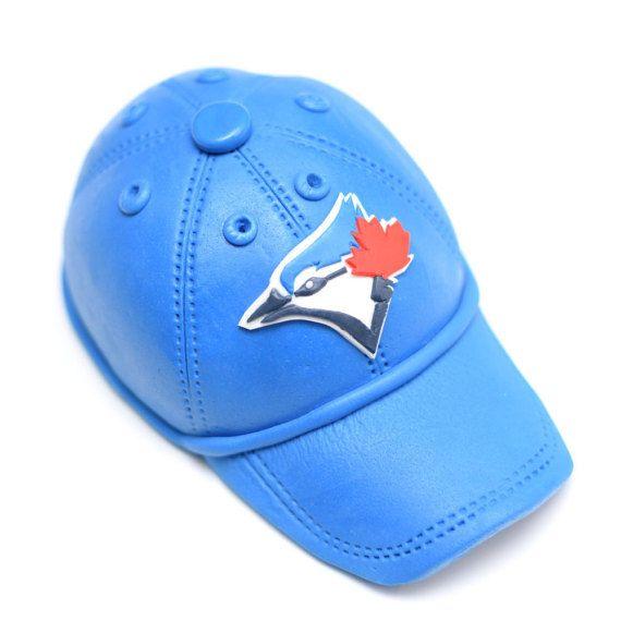 Fondant de béisbol Blue Jays gorra   sombrero por SweetPeaCakesArt ... c5a752db94a