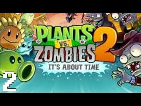 Plants Vs Zombies 2 Part 6 Pyramid Of Doom Gameplay