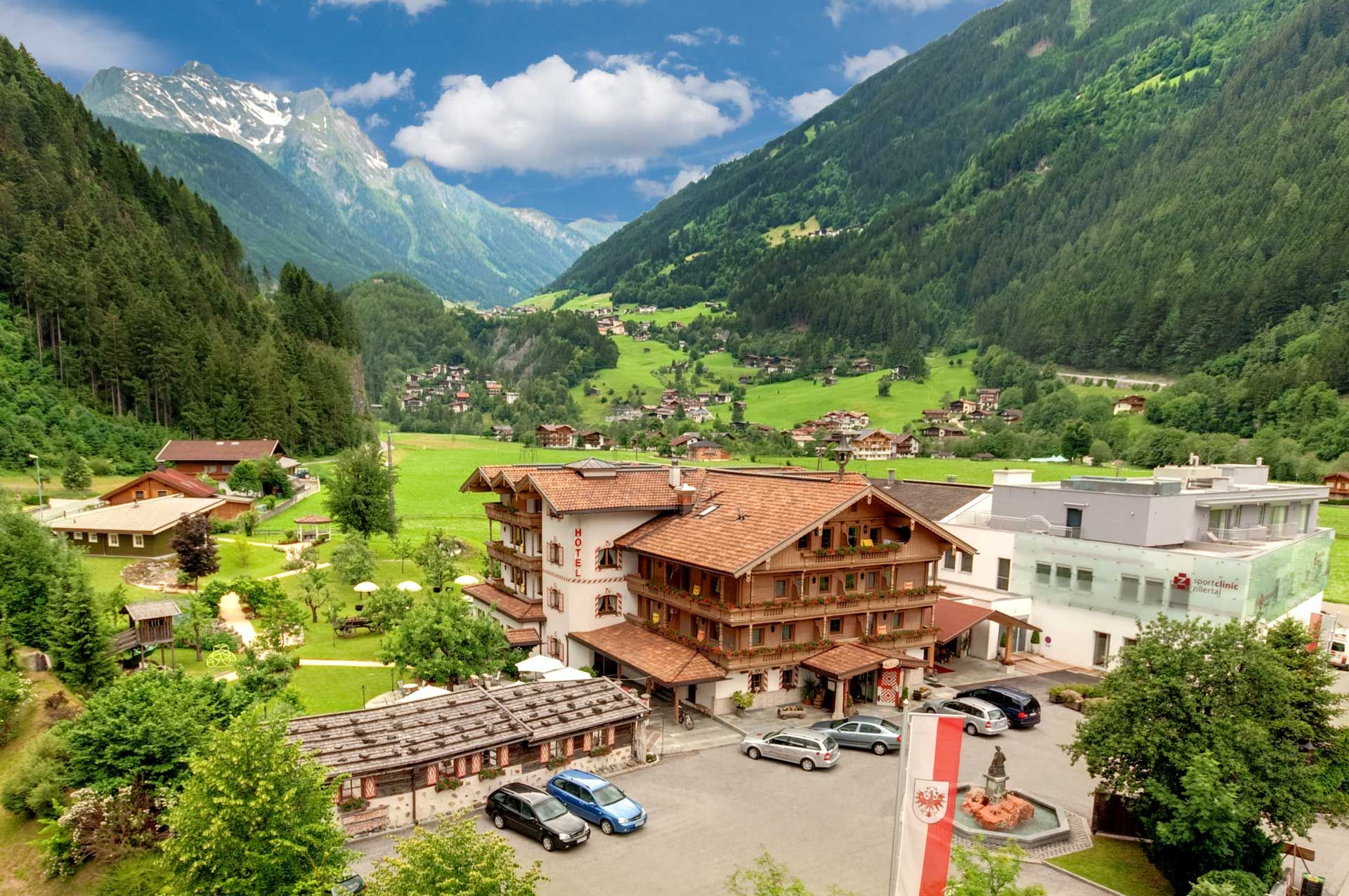 Single hotel mayrhofen