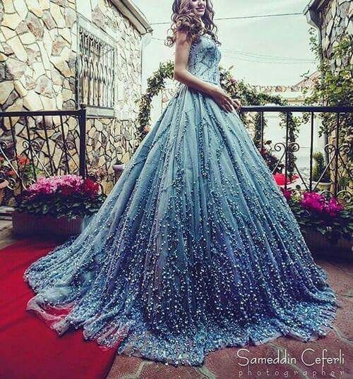 40b61c2076f846 Starry Night Prom Dress | clothes in 2019 | Dresses, Wedding dresses ...