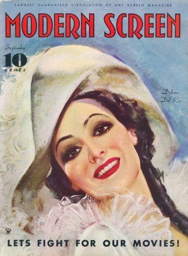 Dolores del Rio - Modern Screen - September 1934