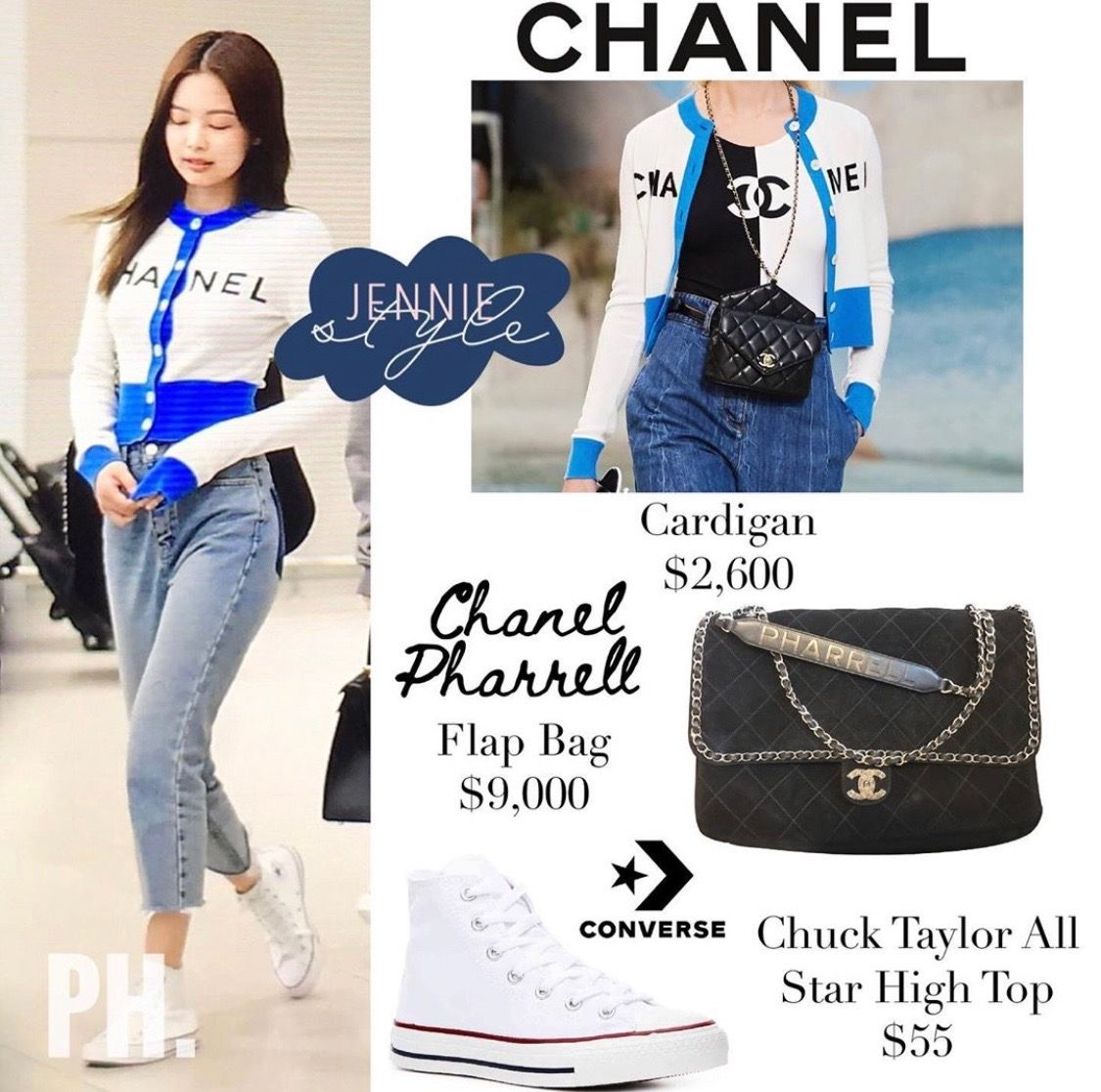 Blackpink Style Jennie Style Jennie Outfit Jennie Closet Jennie Clothes Kpop Fashion Blackpink Fashion Kpop Fashion Outfits