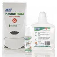 Deb Instant Foam Hand Sanitiser Dispenser 1ltr Inf01con Hand