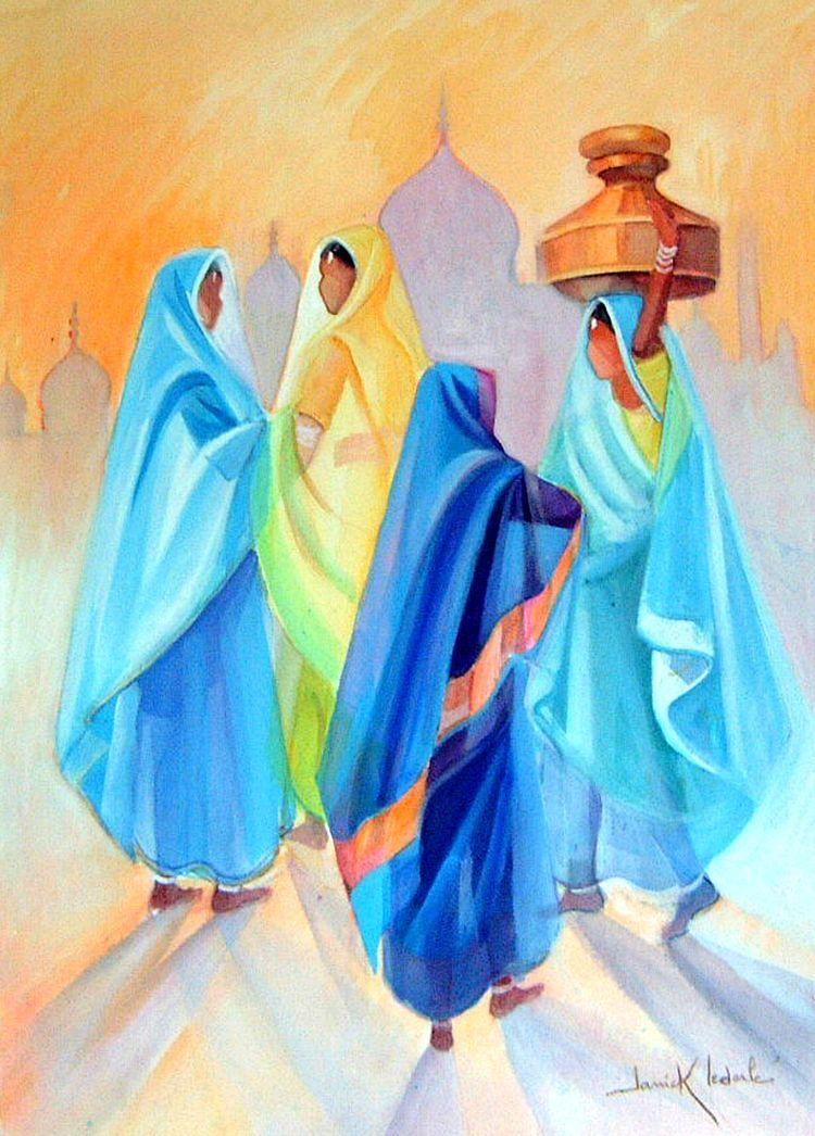 Epingle Par Mohamed Taki Sur Tableaux D Art Art Indien Peinture