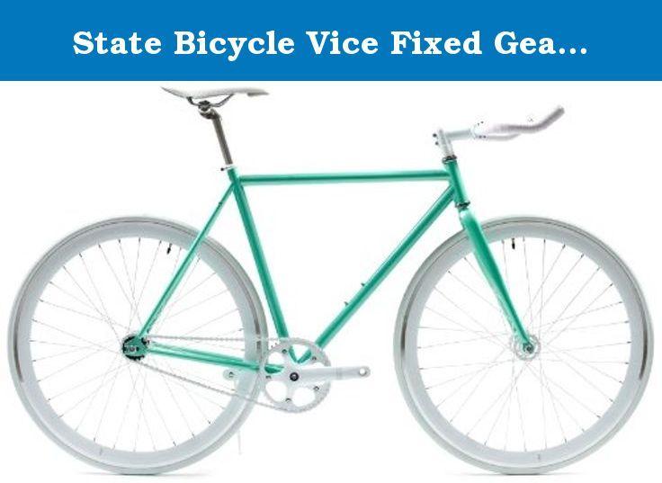 Alloy Fixed Gear Bicycle Cycling Straight Fixie Bike Straight Bar Handlebar