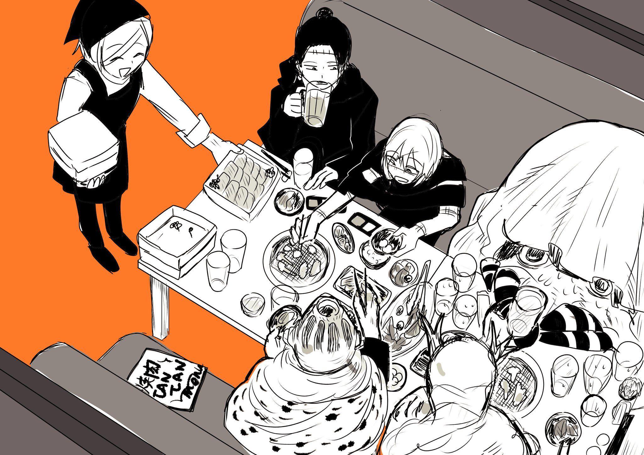 みねお on Twitter Wise monkeys, Jujutsu, Manga