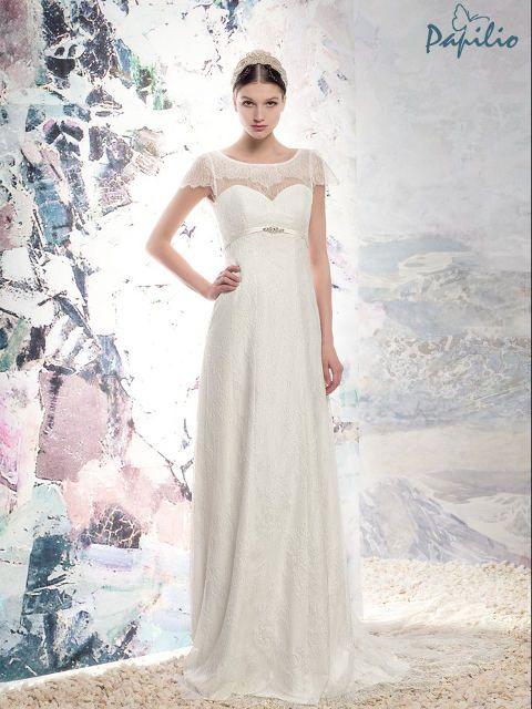 Vintage zum Verlieben von Papilio! Die Brautkleider nach Maß gibt es ...