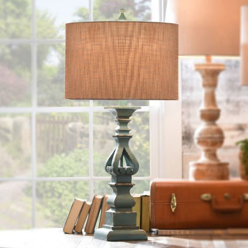 Kirklands Table Lamps Endearing Cutout Turquoise Table Lamp  Turquoise Table Living Spaces And