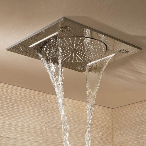 "Grohe Rainshower FSeries 15"" Multi Spray ceilingmounted"