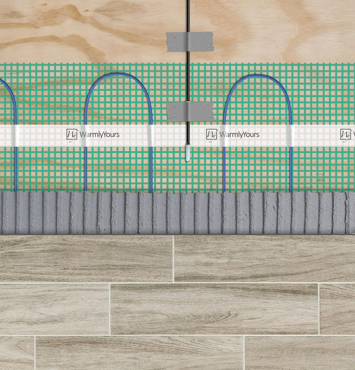 How To Install Floor Heating Under Tile Heated
