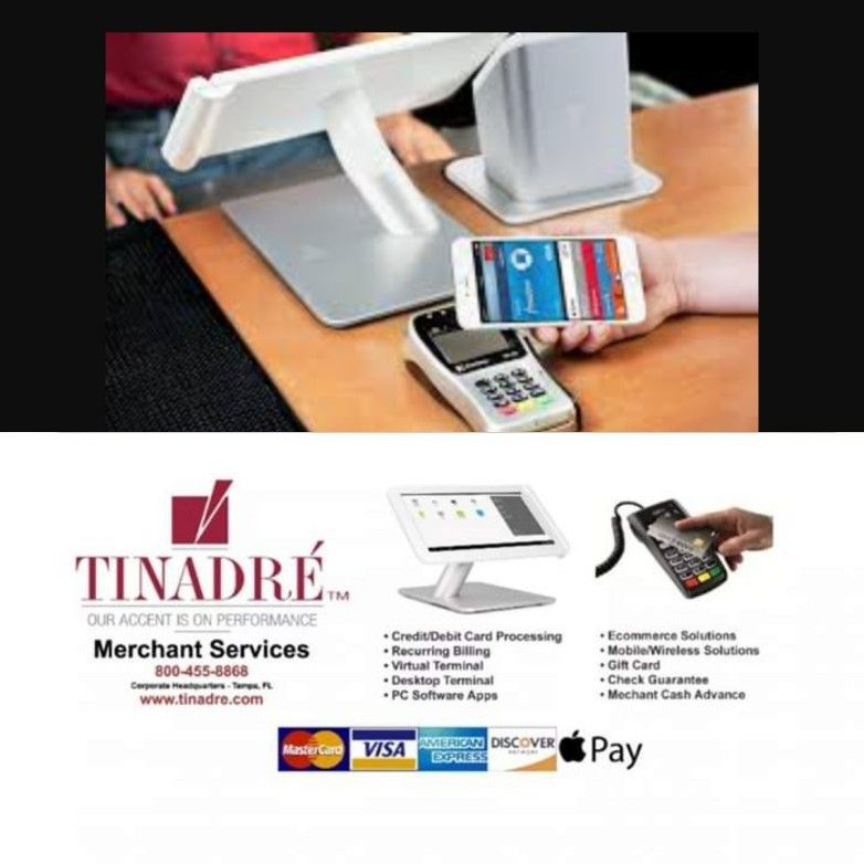 Good Afternoon From All Of Us At Tinadre Merchant Services Eric