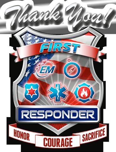 ThankYouFirstResponder | Honor, Celebrate, Raise Awareness & Support First Responders! | 1st responders, First  responders day, Police appreciation