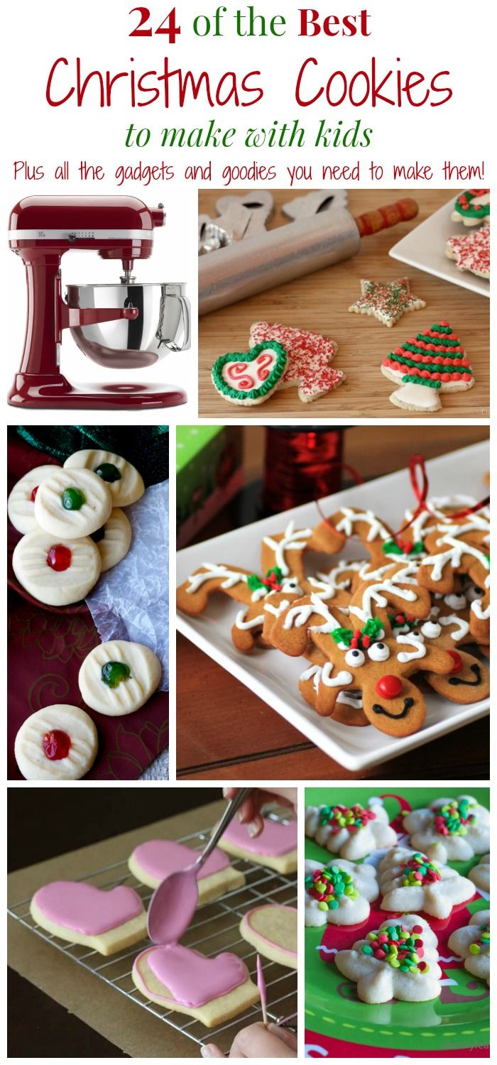 The Best Christmas Cookies for Kids | Kitchen gadgets, Christmas ...