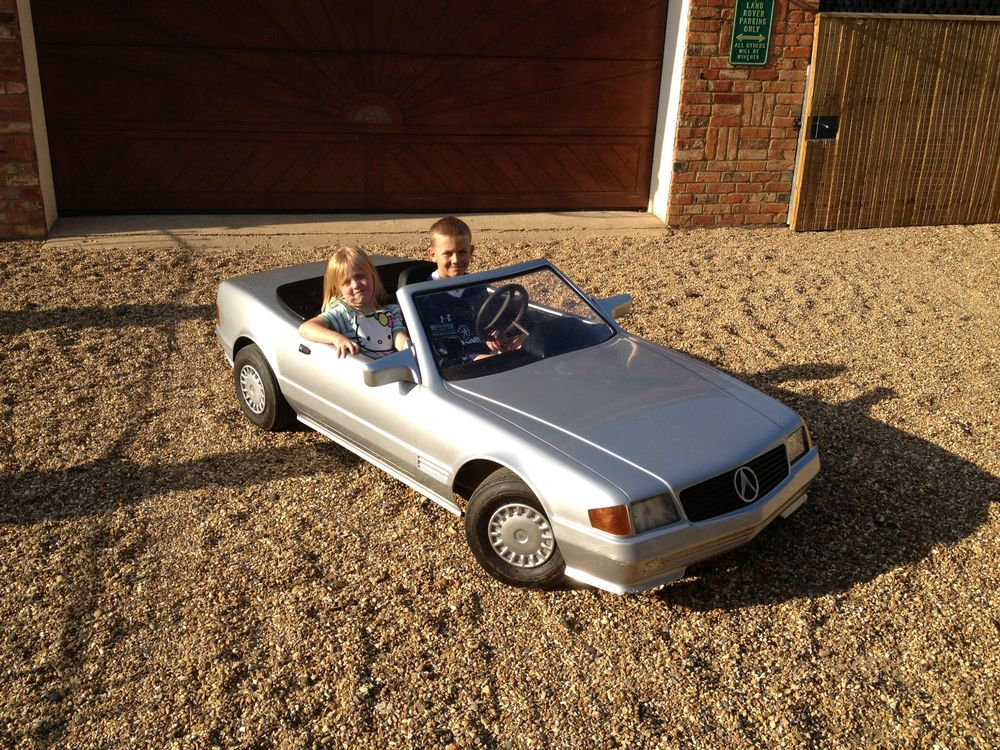 Mercedes sl 500 scale petrol tot rod childrens car go kart new ...