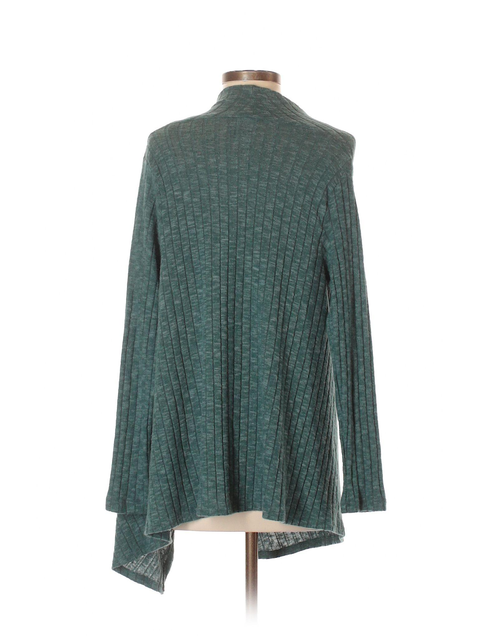 139e8e7bb3de Bobeau Cardigan  Size 0.00 Teal Women s Sweaters   Sweatshirts -  22.99