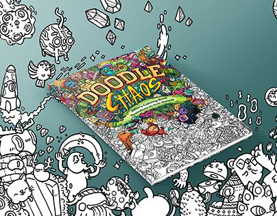 Introducing Doodle Chaos The Book In Zifflin Series Featuring Designs From Philippines Based Artist Irvin Ranada Inspired By Bustle Of