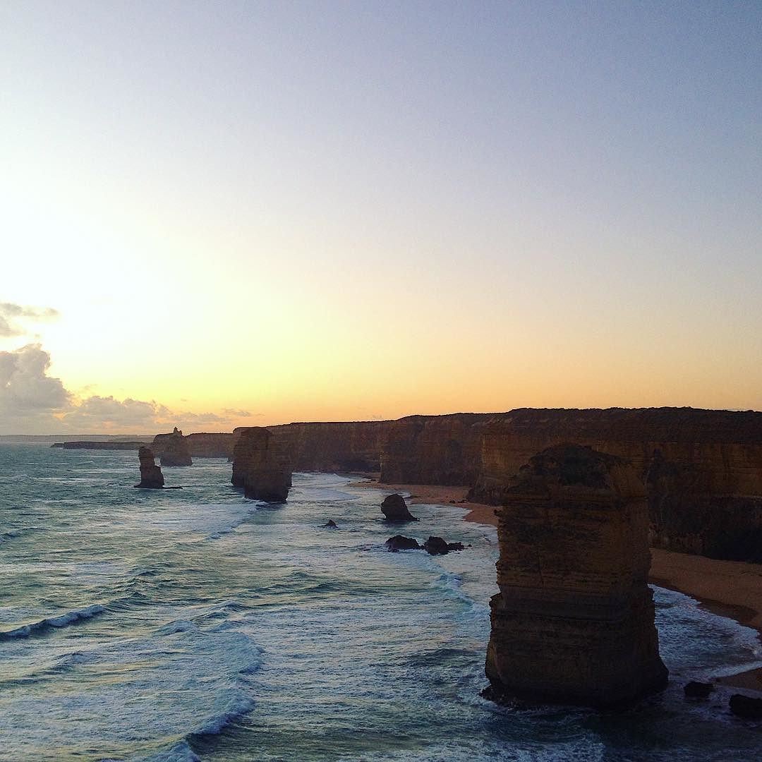 Sunset at the 12 Apostles  #victoria #australia #12apostles #greatoceanroad #travel #roadtrip by floramathilde