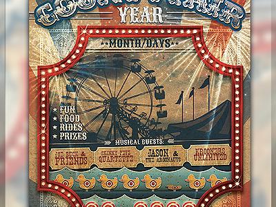 Vintage Carnival Flyer