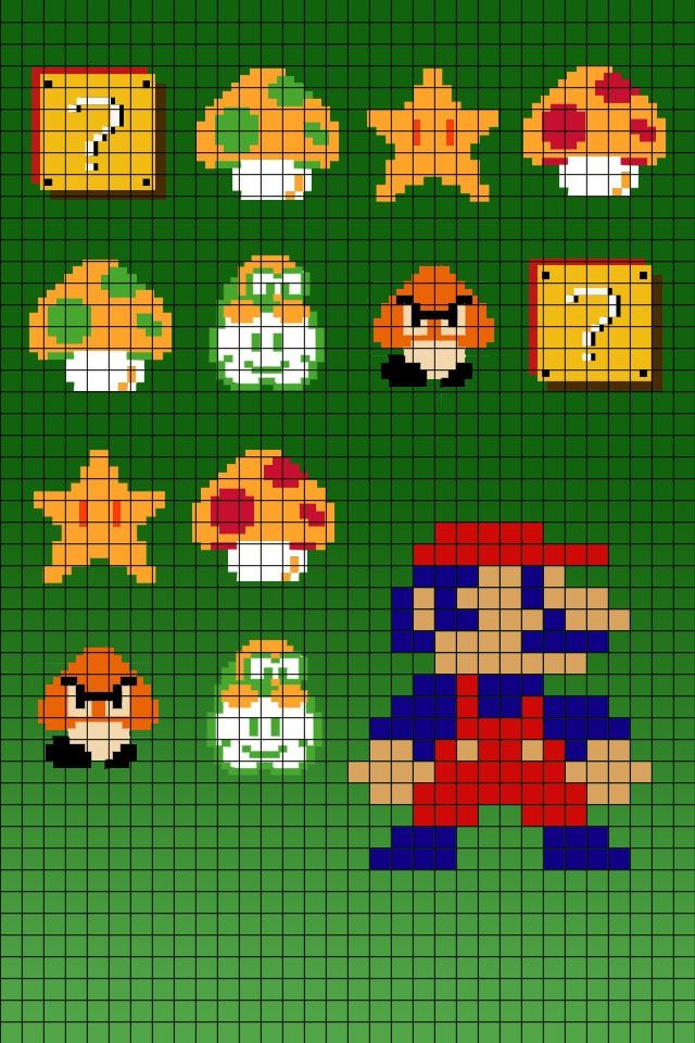 Old fashioned super mario bros 44