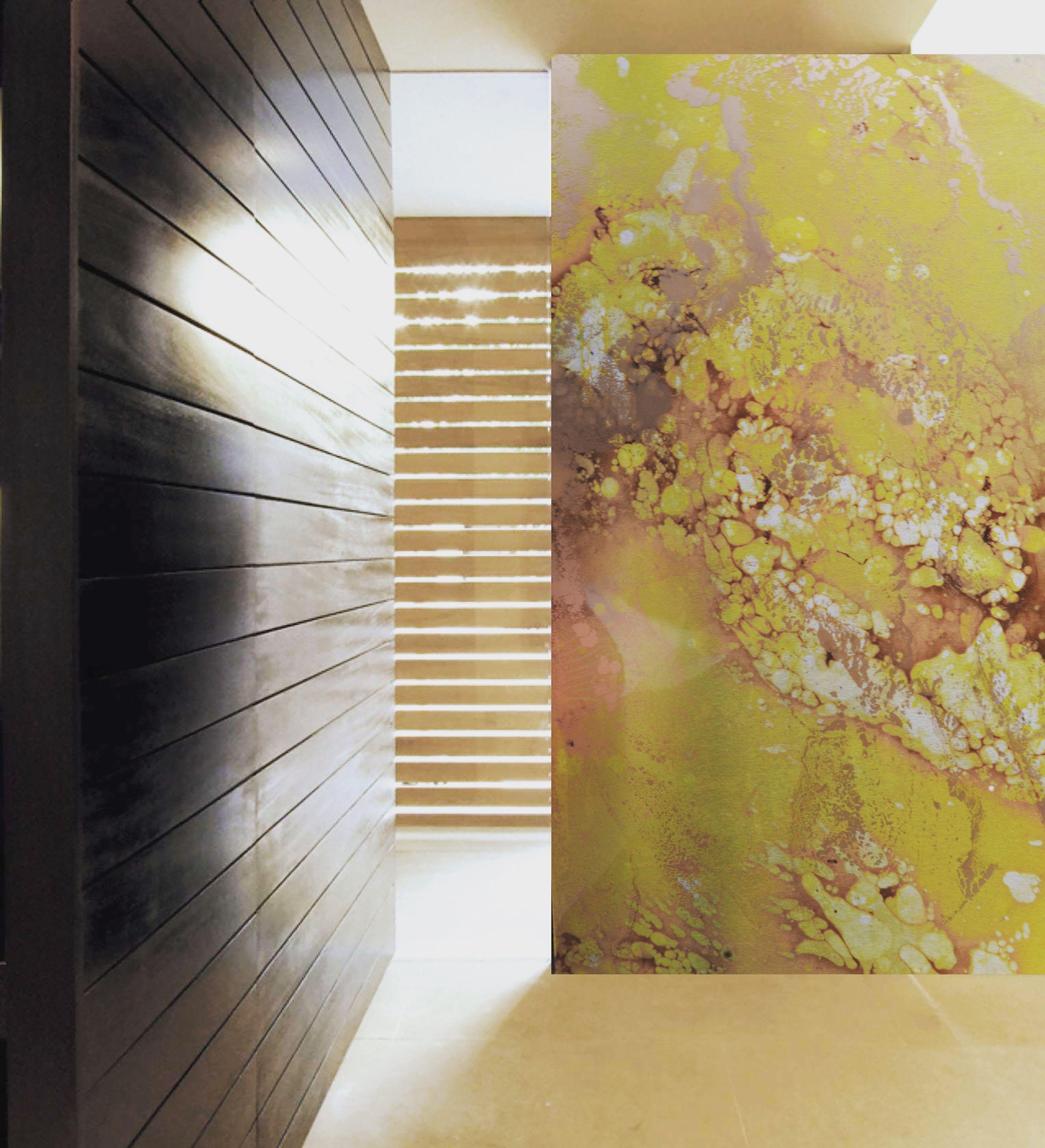 Hallway Design Inspiration. #wallpanel #handmade #painting #painted ...
