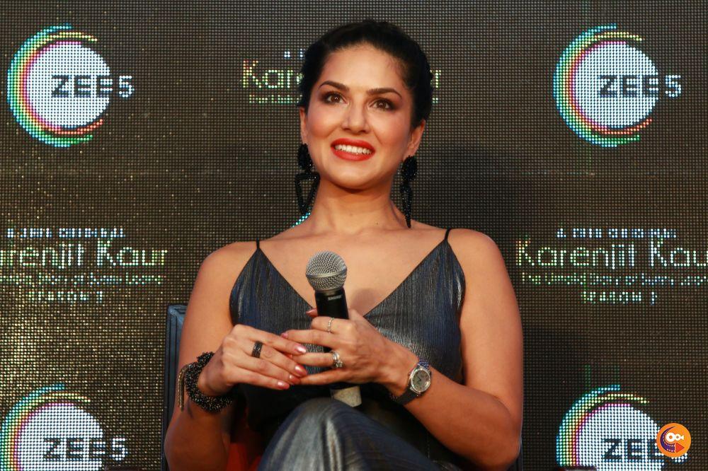 Sunny Leone's Karenjit Kaur Season 2 Press Meet