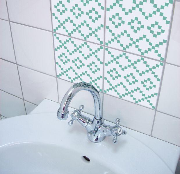 BILO 01 >  Fliesen/ Kachel Aufkleber Set w BOUBOUKI individual.interior.items na DaWanda.com