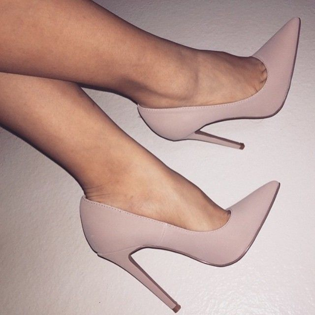 Nude Ambitious Black Suede Women's Heels Popular Colors