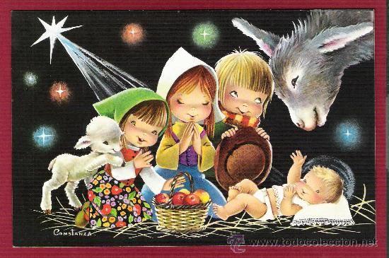 postales magnficos dpticos de navidad para nios ilustrados por constanza c y