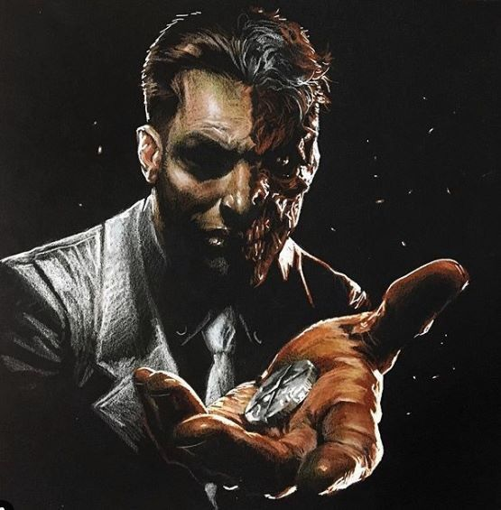 Two Face by Gabriele Dell'Otto #comicbooks