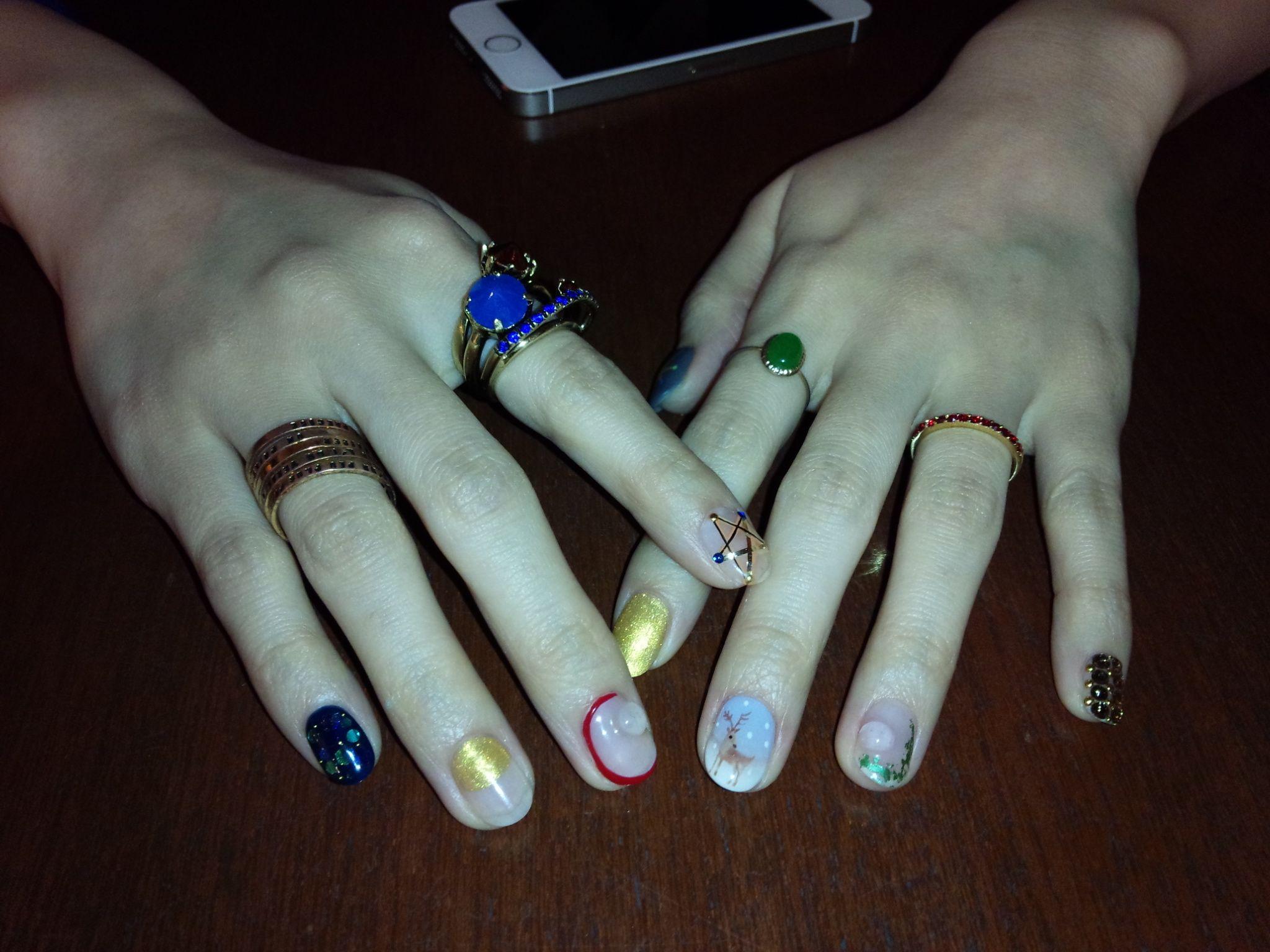 nail for Christmas