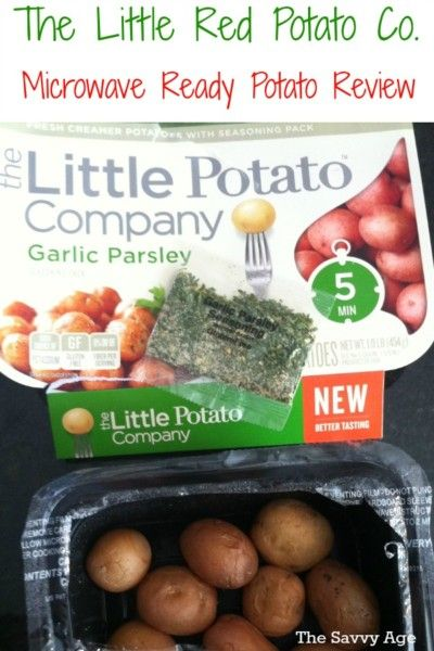 Productreviewparty Yummy Quick And Convenient Is The Little Potato Company Microwave Ready Potatoes Review Of Garlic Parsley