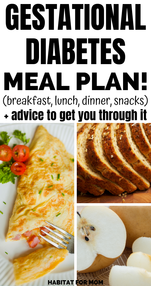 Gestational Diabetes Meal Plan (20+ tips and food ideas)