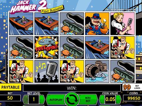 Игровой автомат jack hammer 2 quad