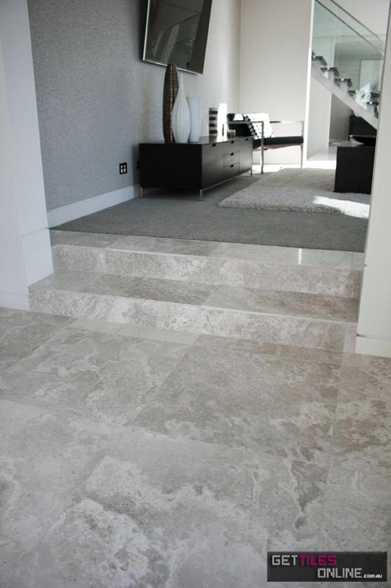 Silver Travertine Porcelain Matt 600x600 Code 00848 Silver Travertine Tiles Large Floor Tiles Travertine