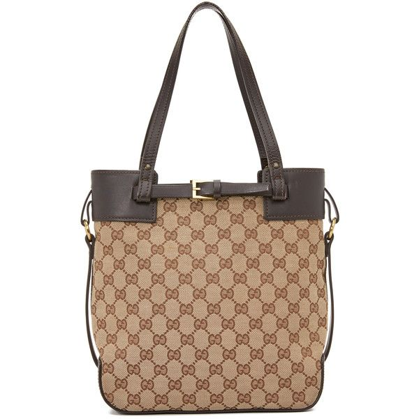 de83df9435c What Goes Around Comes Around Gucci Buckle Tote (Previously Owned) (78