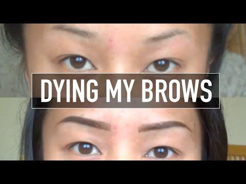 DIY EYEBROW TINTING - Easy At Home Method - YouTube | Beauty ...