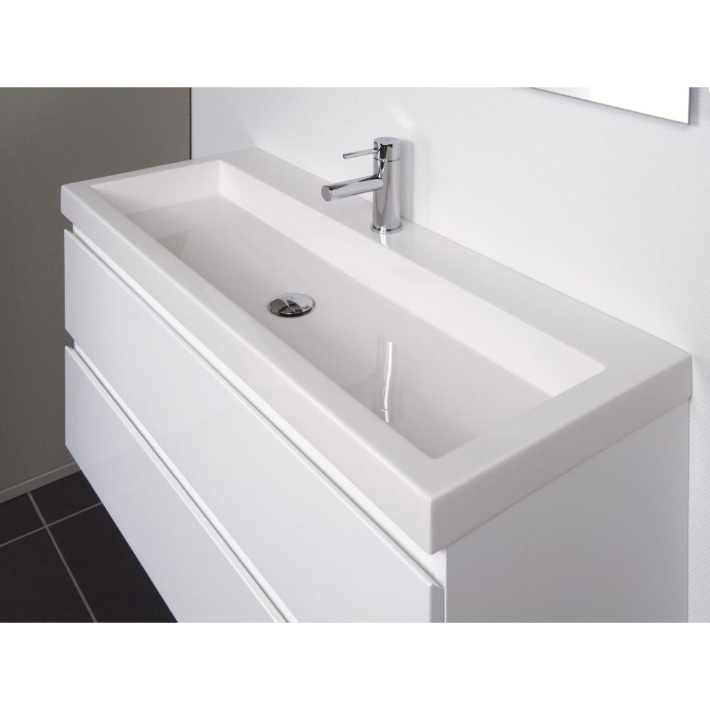 Badkamermeubel 30 Diep.Badkamermeubel Wit Greeploos 40 Cm Diep Google Zoeken
