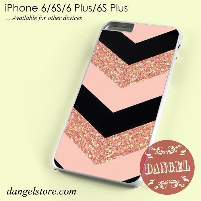 Pink Glitter Chevron Phone case for iPhone 6/6s/6 Plus/6S plus