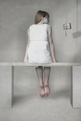 Interno con figure, studio n.13 by Michele Ranzani