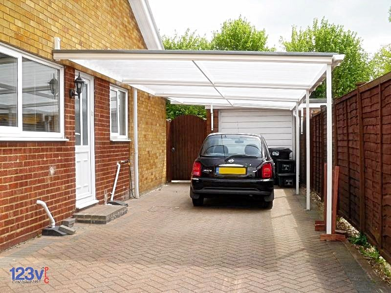 A carport canopy is a great way to protect your vehicle