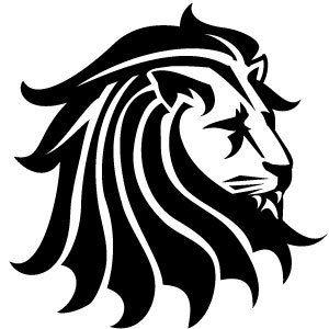Free Vector Art Graphics Lion Black Vector Clip Art Tribal Lion Lion Vector Free Vector Art