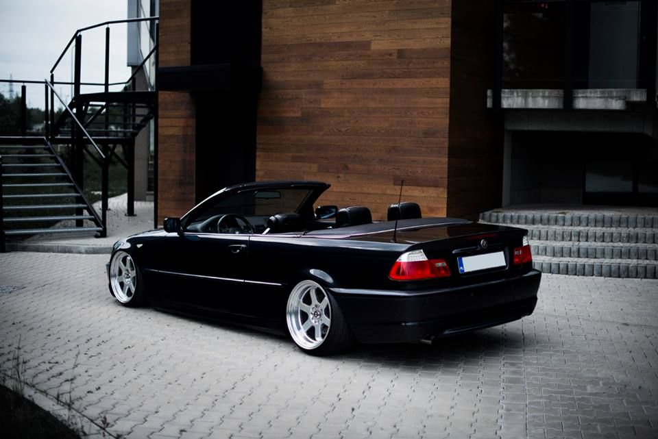 Isn T It A Perfect Wheels Setup For E46 Cabrio Jr 12 18 Hyper
